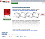 Download SmartDraw Bathroom Software